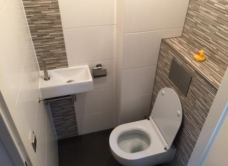 Toilet renovatie Hilversum
